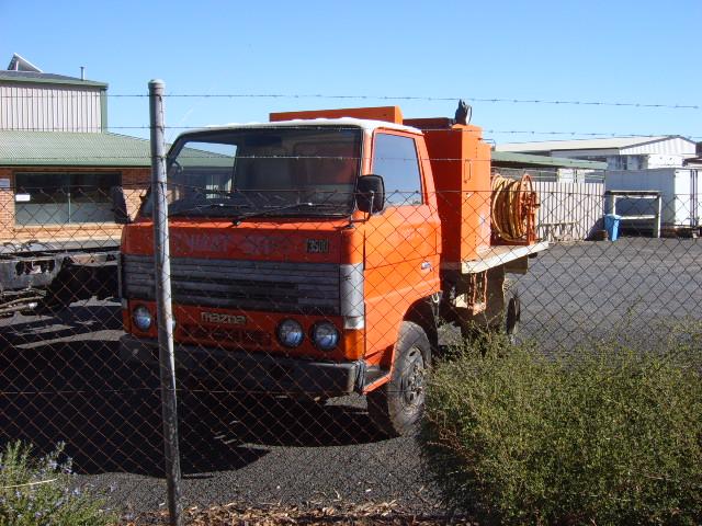 MAZDA 4X4 FIRE TRUCK
