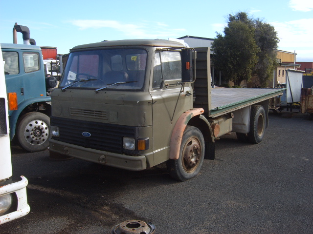 D SERIES FORD ARMY TRAY TOP